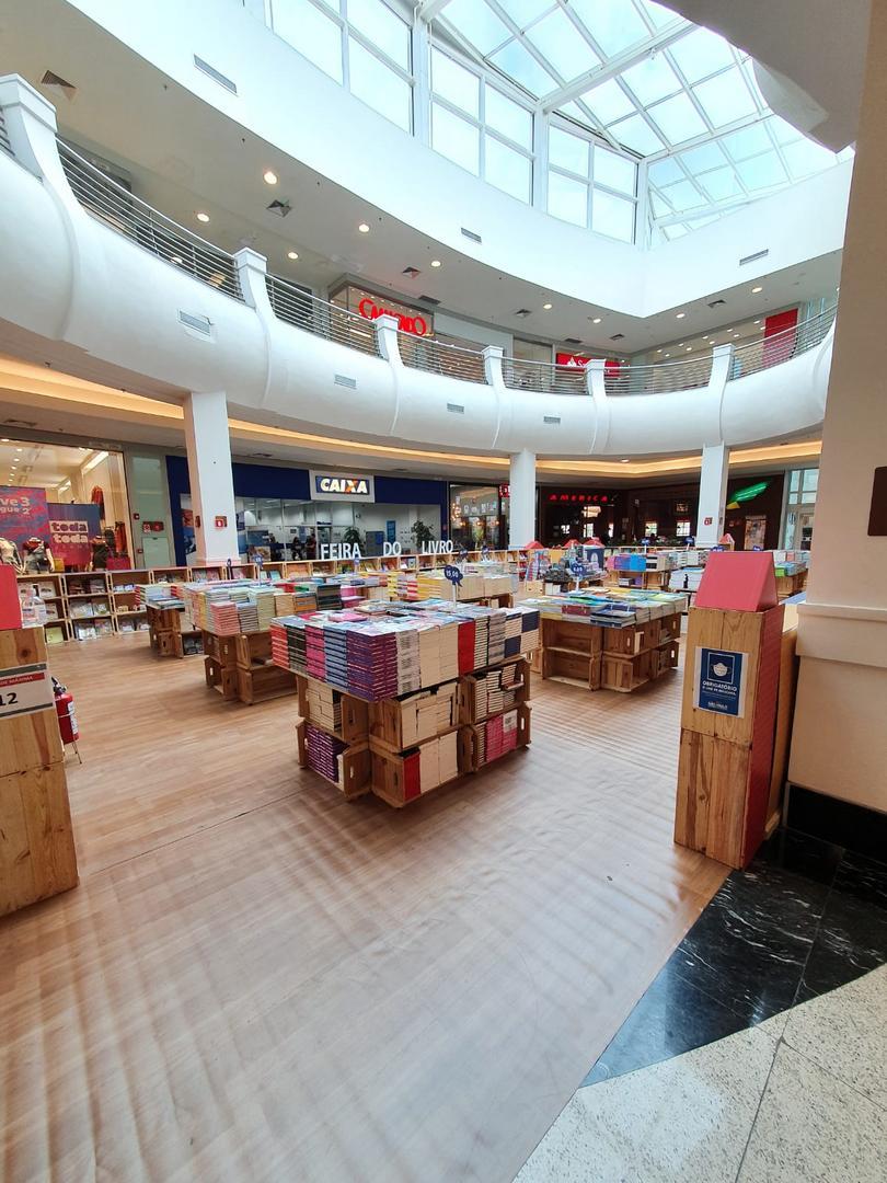Mooca Plaza recebe a Feira Letrinha com mais de mil títulose preços acessíveis