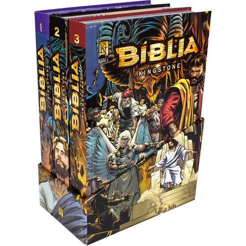 Kingstone, a inovadora Bíblia em quadrinhos